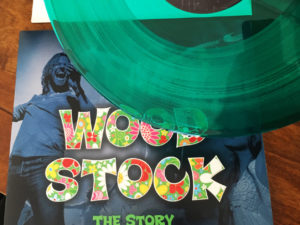 Woodstock the Story Dubbelalbum Limited Edition Transparant Groen Vinyl