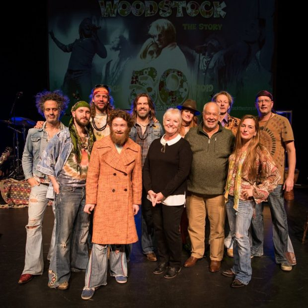 Cast Woodstock the Story met Bobbi en Nick Ercoline (12-01-2019)