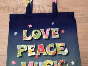 Draagtas Woodstock the Story Love Peace Music